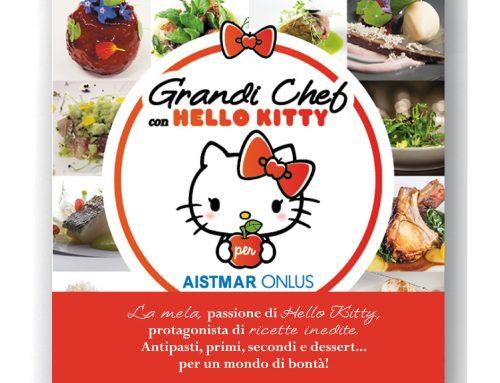 """Presentazione del libro """"Grandi Chef con Hello Kitty per Aistmar Onlus"""""""
